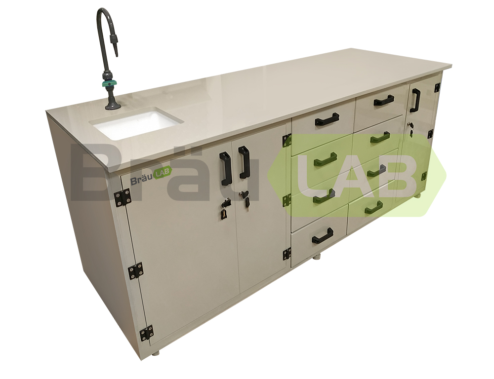 Laboratory PP Wall Bench