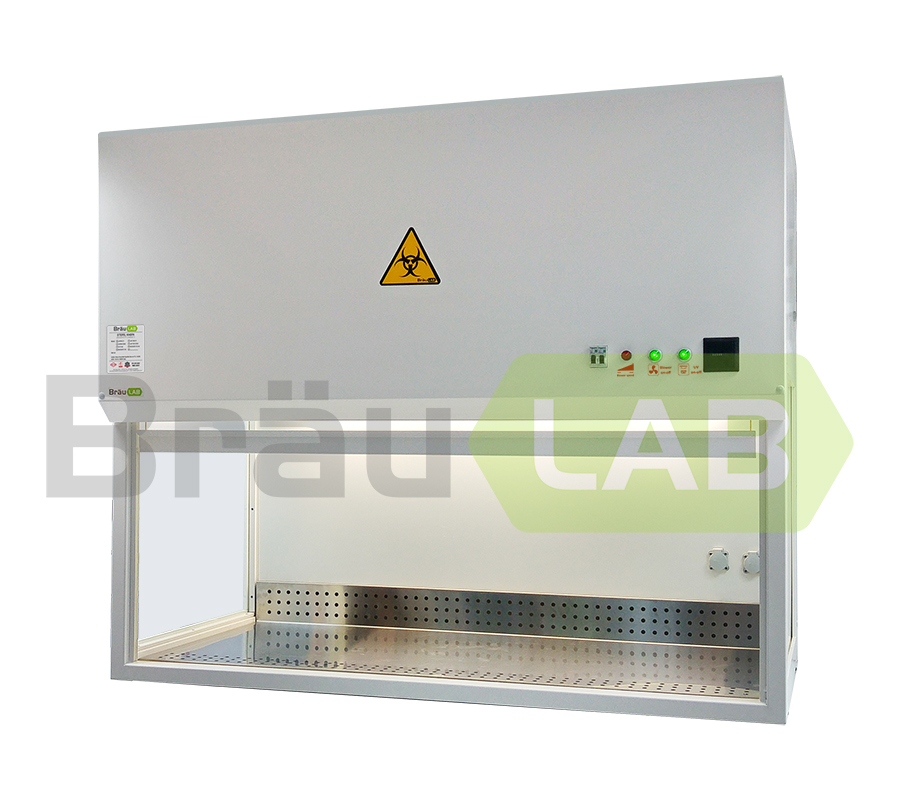 Biosafety Cabinet Class II A2 Benchtop (BrauLAB LAF135 C2A2)